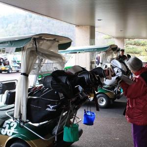 ゴルフクラブ本数確認