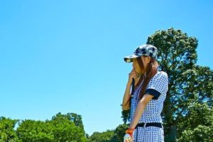 ゴルフ女性