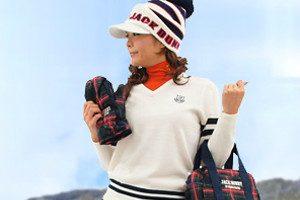 冬ゴルフレディースウェア