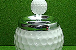 ゴルフ型灰皿